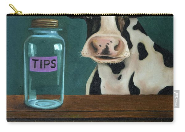 Cow Tipping Carry-all Pouch