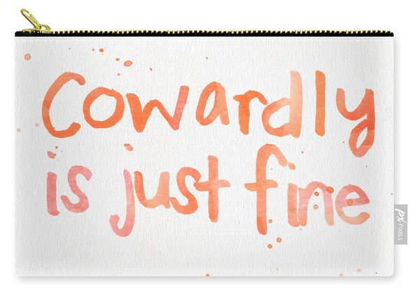 Cowardly Carry-all Pouch