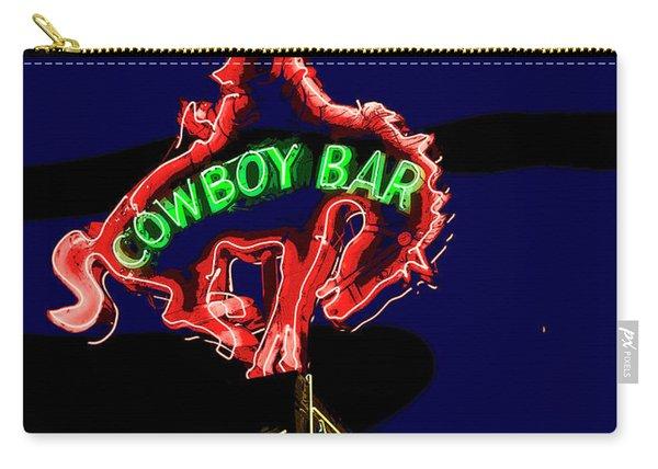 Cowboy Bar Jackson Hole Carry-all Pouch