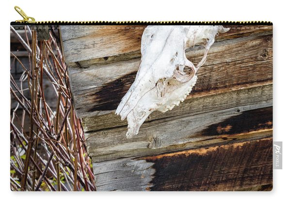 Cowboy Cabin Adornment Carry-all Pouch