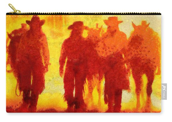 Cowpeople Carry-all Pouch