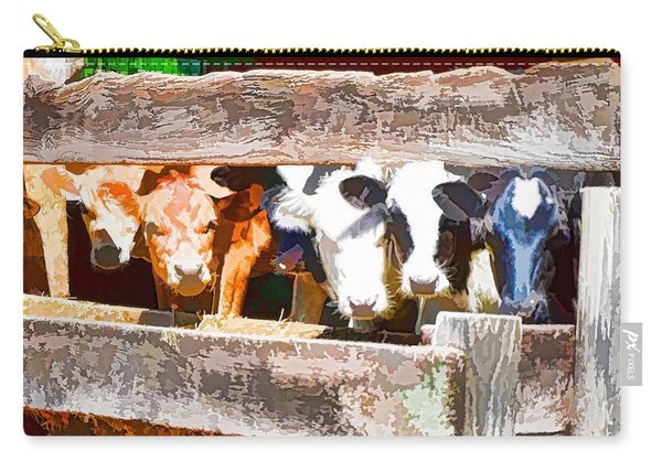 Cows On Farm 1 Carry-all Pouch