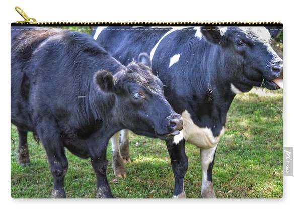 Cows Sticking Out Tongues Carry-all Pouch