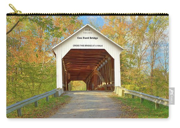 Cox Ford Covered Bridge Carry-all Pouch