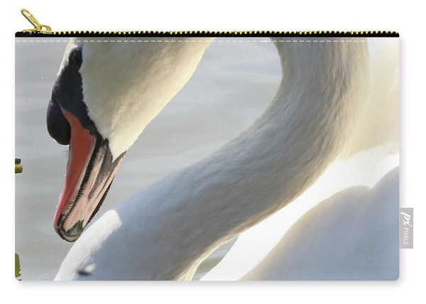 Coy Swan Carry-all Pouch