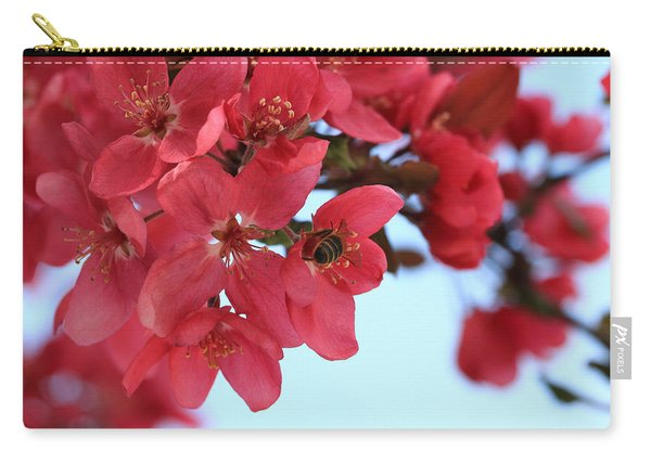 Crabapple Bees Carry-all Pouch