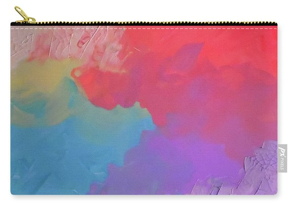 Cracked Pastels Carry-all Pouch