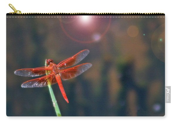 Crackerjack Dragonfly Carry-all Pouch
