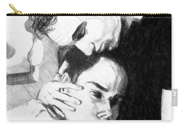 Cradle My Heavy Heart Carry-all Pouch