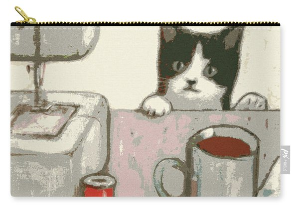 Crafty Cat #2 Carry-all Pouch