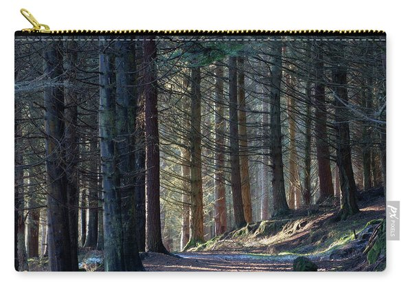 Craig Dunain - Forest In Winter Light Carry-all Pouch