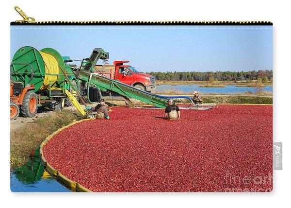 Cranberry Farming Carry-all Pouch