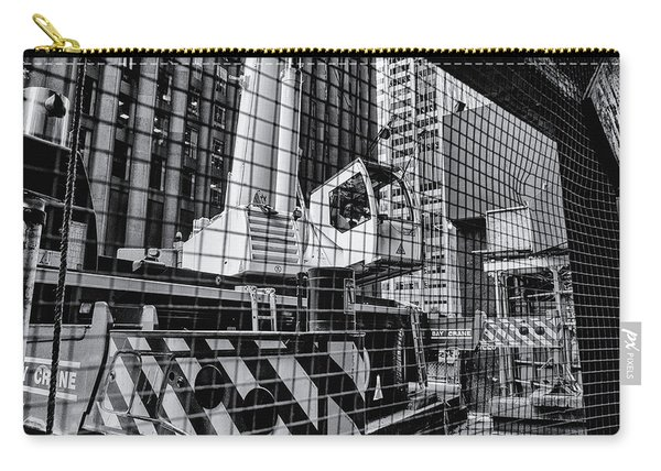 Crane In Manhattan Carry-all Pouch