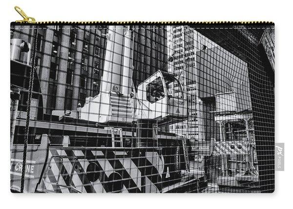 Crane In Manhattan Carry-all Pouch