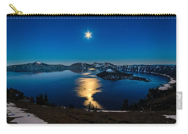 Crater Lake Moonlight Carry-all Pouch