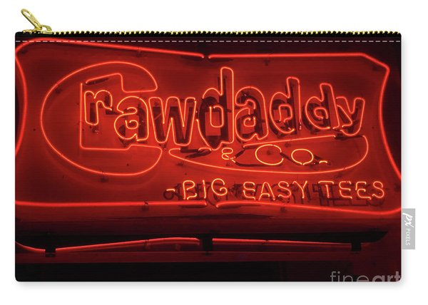 Craw Daddy Neon Sign Carry-all Pouch