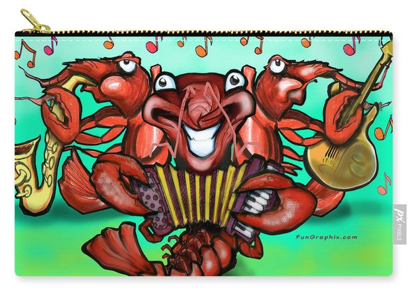 Crawfish Band Carry-all Pouch