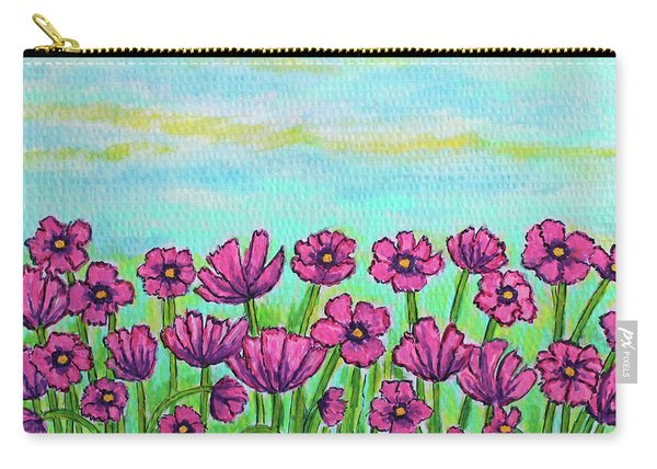 Crazy For Cosmos Carry-all Pouch