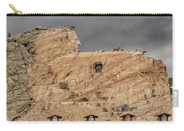 ...entrance Crazy Horse Memorial South Dakota.... Carry-all Pouch