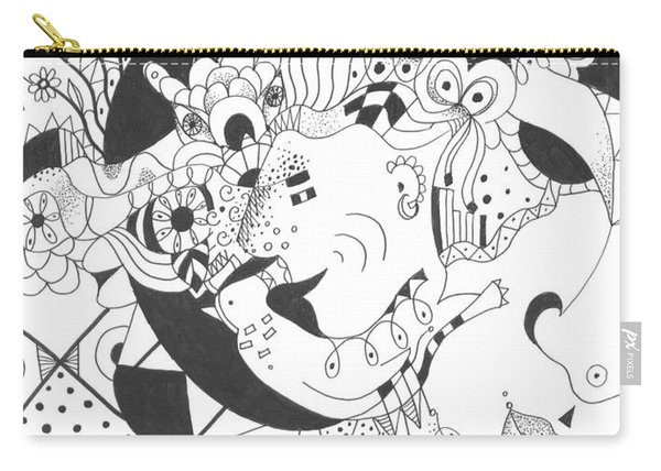 Creatures And Features Carry-all Pouch