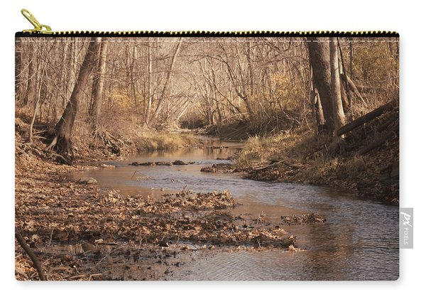 Carry-all Pouch featuring the photograph Creek by Michael Colgate