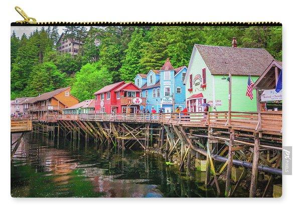 Creek Street Ketchikan Alaska Carry-all Pouch