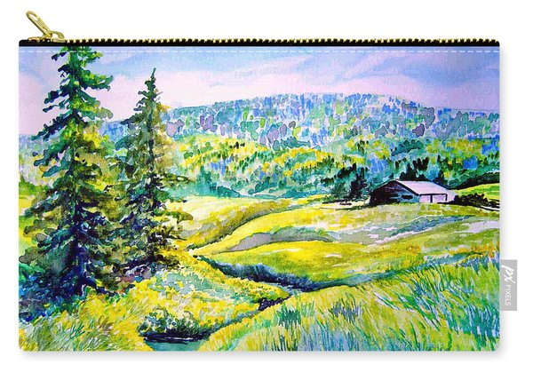 Creek To The Cabin Carry-all Pouch