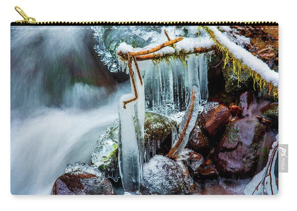 Creekside Icicles Carry-all Pouch
