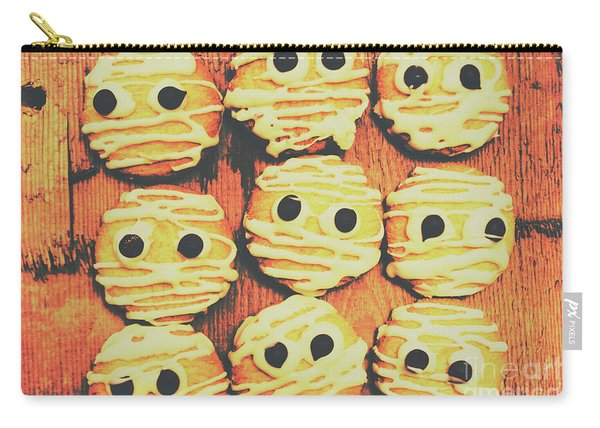 Creepy And Kooky Mummified Cookies  Carry-all Pouch