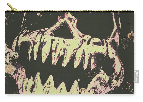 Creepy Face From Nightmares Past Carry-all Pouch