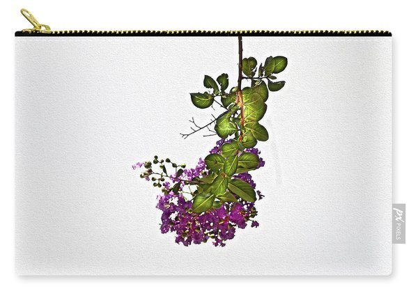 Crepe Myrtle In Oil Carry-all Pouch