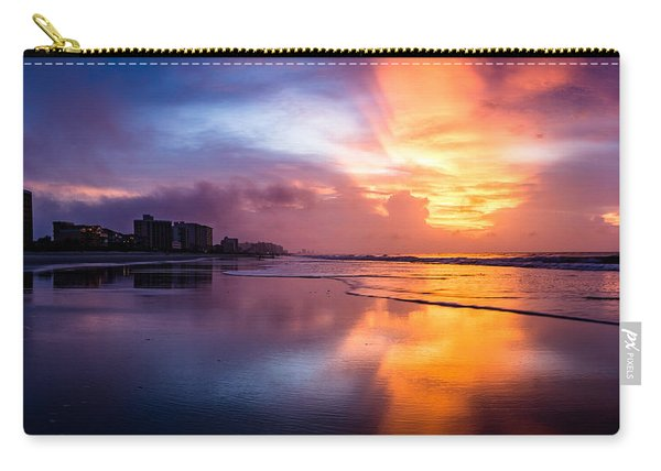 Crescent Beach Sunrise Carry-all Pouch