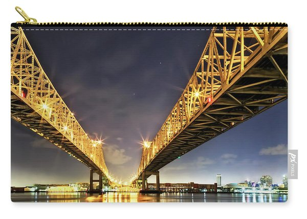 Crescent City Bridge In New Orleans Carry-all Pouch