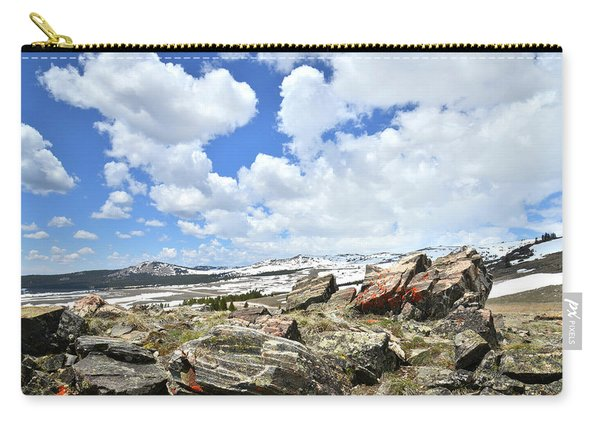 Crest Of Big Horn Pass In Wyoming Carry-all Pouch
