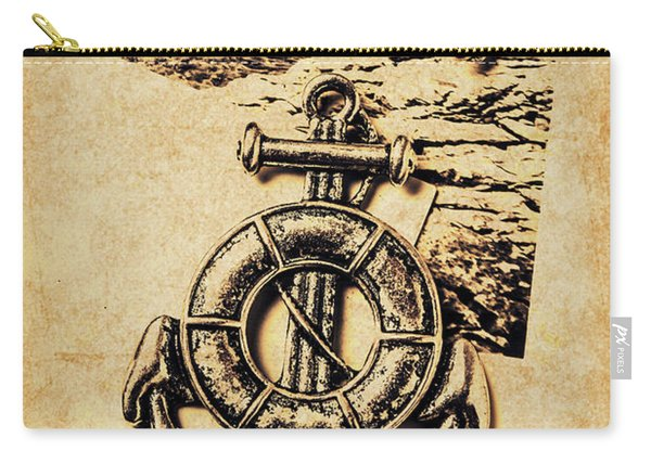 Crest Of Oceanic Adventure Carry-all Pouch