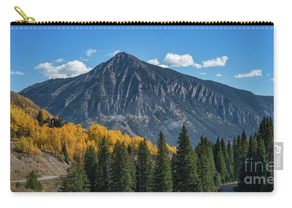 Crested Butte Mountain Carry-all Pouch