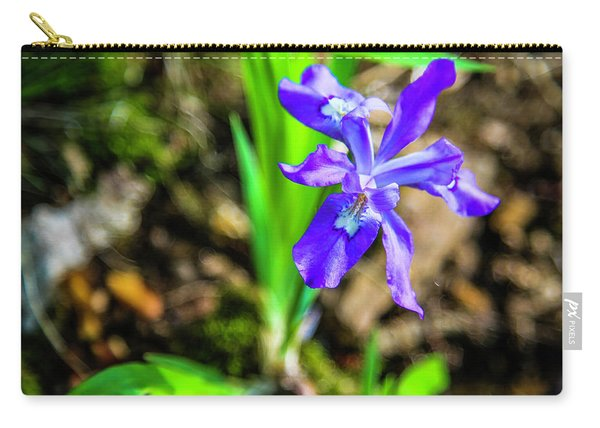 Crested Dwarf Iris Carry-all Pouch