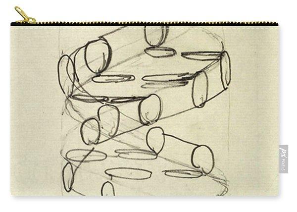 Cricks Original Dna Sketch Carry-all Pouch