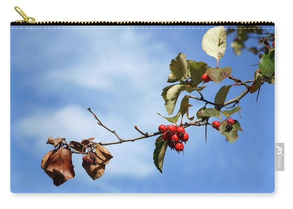 Crimson Berries Carry-all Pouch