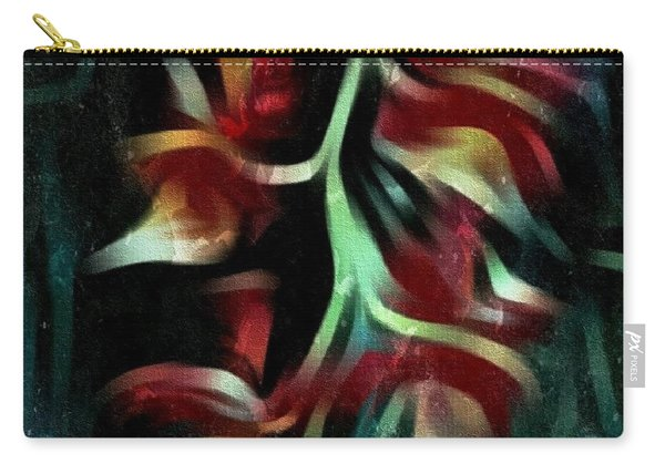 Crimson Flow Carry-all Pouch