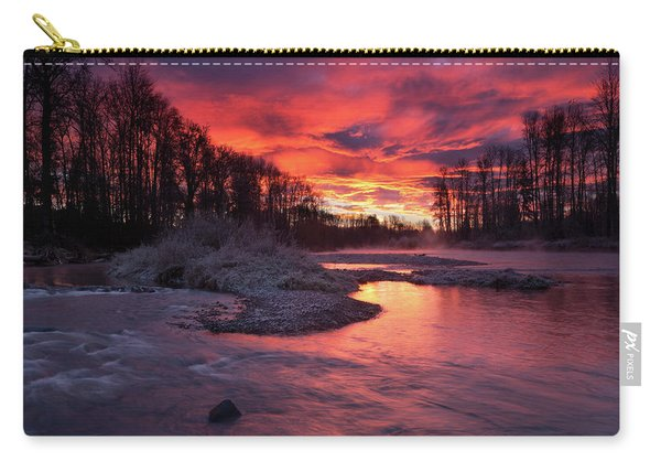 Sage Island Sunrise Carry-all Pouch