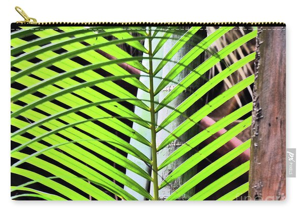 Crisscrossing Palms Carry-all Pouch