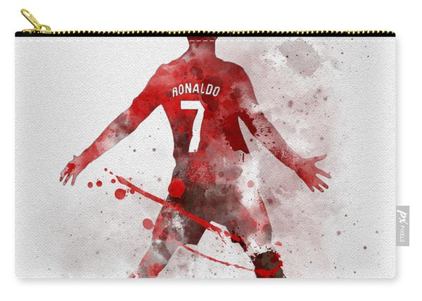 Cristiano Ronaldo United Carry-all Pouch