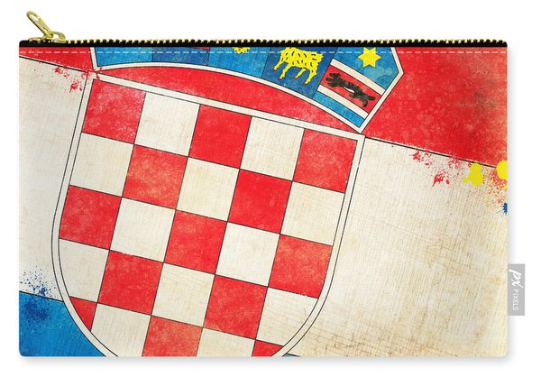 Croatia Flag Carry-all Pouch