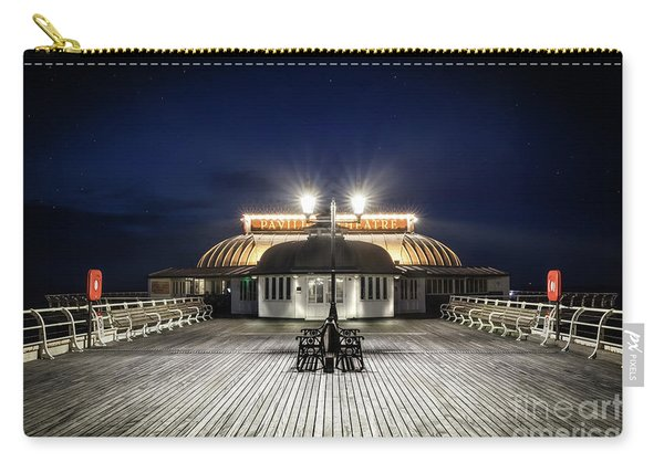 Cromer Pier Pavilion At Night  Carry-all Pouch