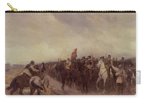 Cromwell At Dunbar Carry-all Pouch