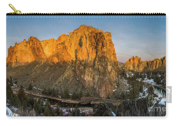 Crooked River At Smith Rock Carry-all Pouch
