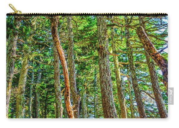 Crooked Trees Of Mt Roberts Carry-all Pouch