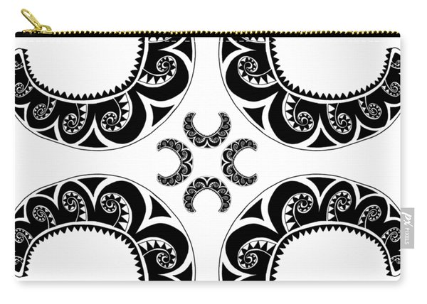 Cross Maori Style Carry-all Pouch