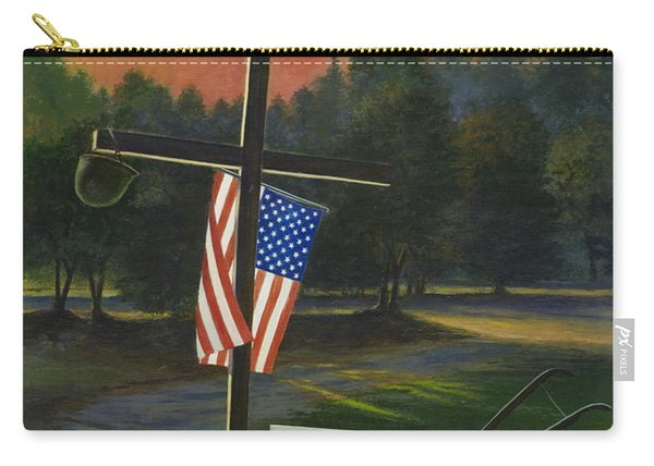 Cross Of Remembrance Carry-all Pouch